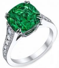 The Origins of Emerald Engagement Rings